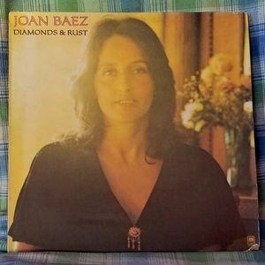 Joan Baez Vinyl Record Album - Diamonds & Rust